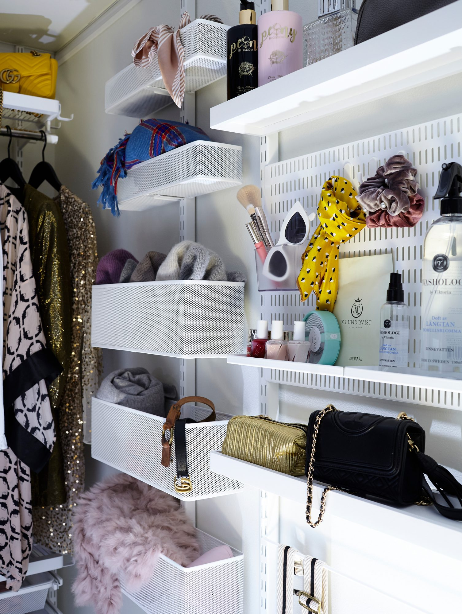 Elfa - Décor - Walk-in closet - Hannah Graaf